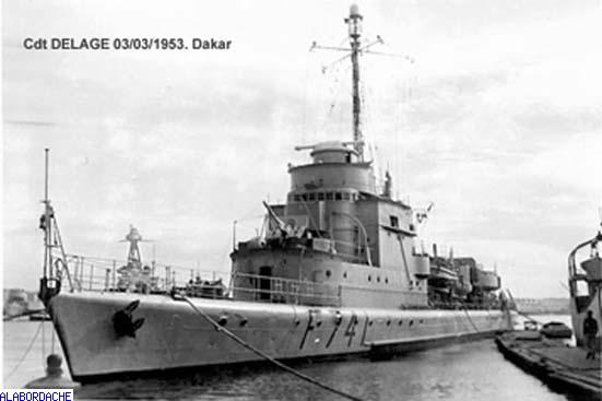 Escorteur commandant delage photo n 4086 - Recrutement port autonome de dakar ...
