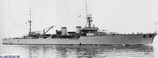 FRANCE CROISEUR LOURD ALGERIE Vignettegduguaytrouin-croiseur1686