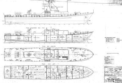plans of the ship